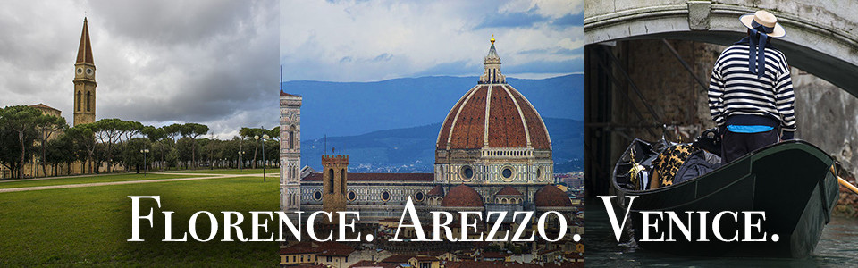 Italy Trips: Florence, Arezzo & Venice
