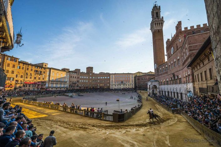 The Practice Square, Palio, Siena, Italy