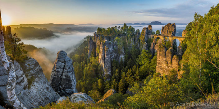 Bridge Of Bastei, Germany