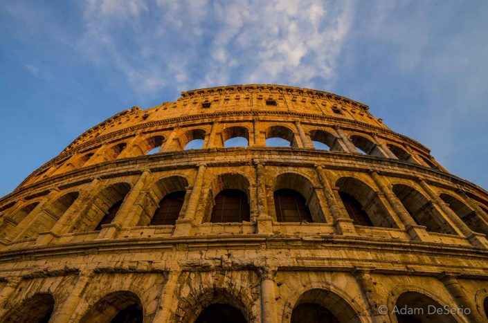 Colosseum Sunset, Rome, Italy
