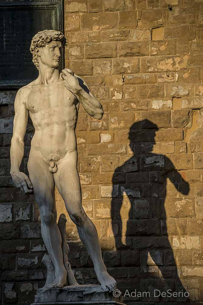 David In The Square, Florence, Italy