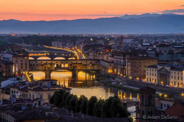 Florence River, Italy