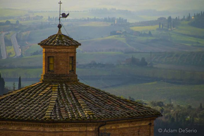 Siena Rooftop View, Italy