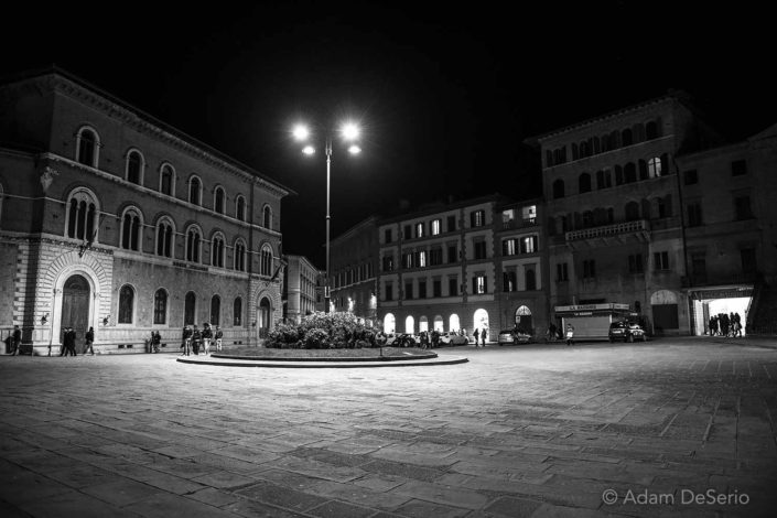 Siena Roundabout Night, Italy