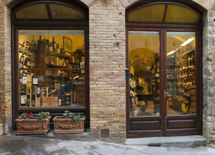 Store Fronts, Tuscany