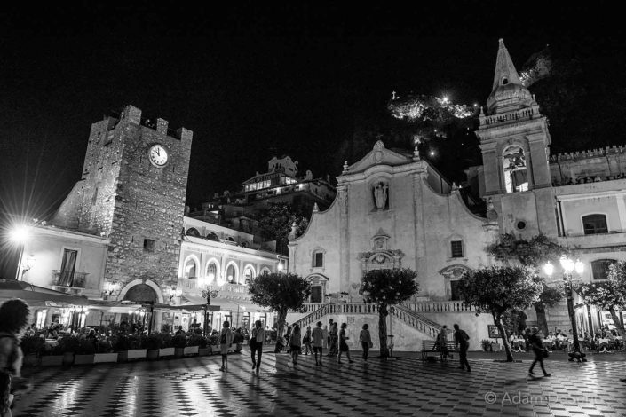 Taormina By Night